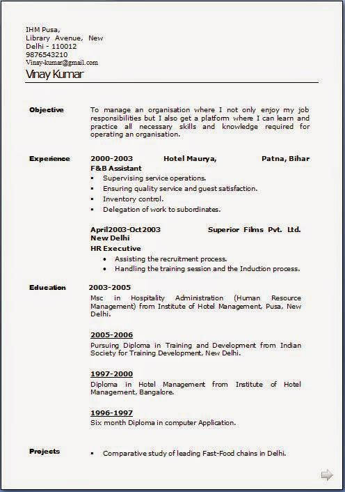 Free how to build a resume