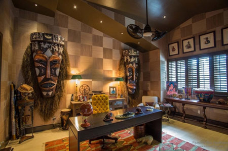 inspired home decor and African interior design decor ideas
