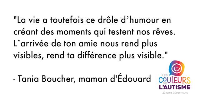 Autisme, la couleur d'Édouard #30couleurs