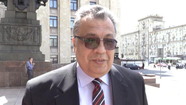 الان..تعرف على نبذة في حياة السفير الروسي الراحل أندرية كارلوف الذي تم قتله اليوم في تركيا