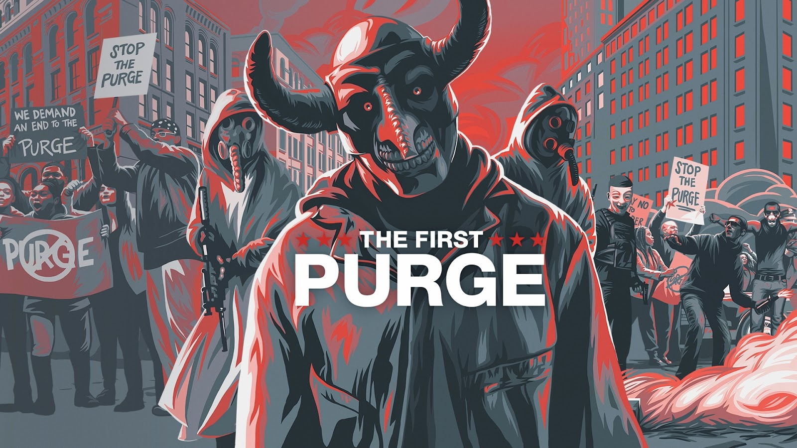 And Creators Speaking About Expanding The World Of The Purge Series With This One And A 2 Min Bit About The Use Of Masks In The Film Which Was Cool