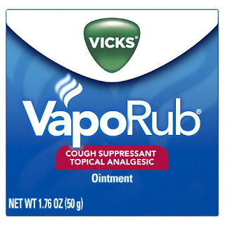 vicks vapor rub stops coughing fits at night in children