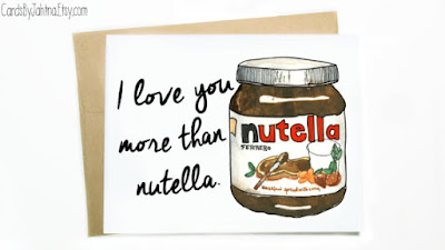 Nutella Greeting Card: