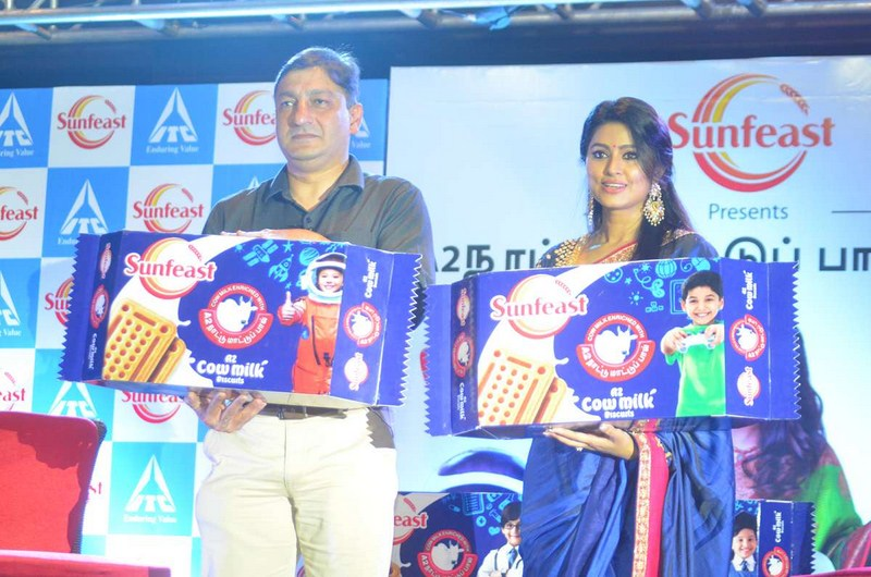 Actress Sneha Launches Sunfeast Biscuits Stills