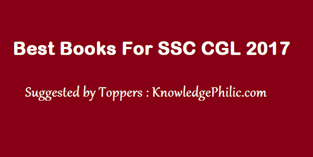 Short Tips To Crack SSC CGL In First Attempt – by Toppers  For General Awareness section, read regular newspaper, magazines such as Competition Master, Competition Success Review or Pratiyogita Darpan. You should be absolutely familiar and opinionated on the news in the last 6 to 7 months. Grab a General Awareness book to brush up your skills before the exam. Make cards or notes for the important Mathematics formulae, tricks, news, vocabulary words. You can read these cards repeatedly anytime. You can also make sticky notes and paste it on the walls and doors of your room. Make study plans. Make a plan for each subject and execute your plan consistently. Cut important news from newspaper and paste it on the wall of your study room, you can also write on the wall or table to remember. Practice is the key, take as many mock tests as you can. It is always a good idea to attempt sample question papers and previous years' question papers. Get the papers checked by your teacher and look for areas you need to improve. To ace the examination you need to answer fast and accurate. Analyze your weak points after taking test and discuss the questions with other aspirants. Work on your weak points and then only take another mock test or practice section wise mock test in your weak areas. Try to discuss in group with your friends. This would help you in memorizing the key points easily. Stay updated with latest websites and emails also. Solve as many questions as you can for quantitative aptitude and Reasoning. Practice is the only thing that can make you perfect for these 2 sections. Do not try to solve every question on exam; keep track of time, you need not to score 90% in exam. Cut off for CGL tier 1 exam remains in a band of 80-105 out of 200 marks exam for General category, for all other categories it is much lower. So, try doable questions first and try to answer accurately. A good attempt of 150 questions will get you through!   If, you are reading this post, then chances are that are you striving for SSC CGL 2017 Exam. SSC CGL is one of the most competitive exams in India, the competitiveness and popularity of this exam is known by the fact, that in 2017, a whooping no. of 30 lakh candidates have registered for this exam.     Best Books for SSC CGL 2017 Exam  As, we mentioned above, that one Single book, is one no use to prepare for CGL Exam. Infact, you need, Books for each section of Syllabus, and sometimes, you may need separate books for various topics for better understanding the concepts.  It is worth mentioning here that recently SSC had made changes in the Pattern of CGL Exam.  These Changes were applicable from CGL 2016 Exam and will continue for CGL 2017 too.  Changes in Tier-1 stage are.  1) Tier-1 is an online exam, comprising of 100 Questions of 2 marks each. Each Section have 25 Questions (2 marks per Question). Total Duration of Tier-1 exam is 75 minutes.  2) There will be negative marking of 0.50 marks for every incorrect answer.    SSC CGL Books for English Section (25 Questions / 50 Marks)   2 months are enough to improve your grammar, vocab, etc. But be regular with them. Learn new words daily, revise them frequently. Download any useful app so that you can learn words on the go!   The best book according to me is MB publication.   If, you know the basic Grammar rules and habit of reading English Newspaper, then this section can be most scoring section for you.  The nature of Questions is of Matric level.  This section is important from the perspective of both Tier-1 and Tier-2 Exam. In tier-1 Exam, there will be 25 Questions of 50 Marks, while in Tier-2 stage, there is a separate paper for English (200 Questions / 400 marks).   SSC CGL English Recommended Books    Click here to buy Word Power Made Easy from Amazon   Click here to buy SP Bakshi from Amazon   Click here to buy English for General Competitions:from Plinth to Paramount (Volume - 1) Amazon  Click here to buy English for General Competitions:from Plinth to Paramount (Volume - 2) Amazon    Click here to buy A Mirror of Common Errors by Ashok Kumar Singh from Amazon  MB Publication SSC English ( 113 Set) Previous Papers 2013 to 2016 Revised & Updated PT & Mains 2017 Paperback – 2017 Amazon   MB Publication SSC English Revised & Updated (Previous Papers)1997-2013 Paperback – 2014 Amazon   Click here to buy SSC ENGLISH Previous Papers by MB publication 1997-2015 from Amazon  OBJECTIVE GENERAL ENGLISH 1 Edition (English, Paperback, R. S. Aggarwal)  Amazon  Kiran's SSC English Language Chapterwise Solved Papers 11300+ Objective Questions – English - 1920 Paperback – 2017 Amazon   Kiran's Ssc English Language Chapterwise Solved Papers 8800+ Objective Questions – English Amazon   Kiran One Word Substitution(English) by Kiran Prakashan 2800+ words Amazon     Idioms & Phrases by Arihant Publications Amazon    SSC CGL 2017 Books for General Awareness Section  General Knowledge - The syllabus of GK is huge and you can never be sure of your preparation. But don't devote much time here. It will entice you, beg for your attention, but don't give up! Lucent is all you should read. General Awareness Section can be most scoring for you, if you are good at cramming, as you have to learn so many things. Moreover, there is no defined syllabus, for this section as anything, can be asked from anywhere.  But most of the Questions, from this section are asked from Polity, General Science, Current Affairs, and Static GK   SSC CGL General Knowledge Recommended Books   Click here to buy Lucent GK in Hindi from Amazon   Click here to buy Lucent GK in English from Amazon   Objective General Knowledge (Lucent Publication) Amazon  14000 + Objective Questions - General Studies ,(Manohar Pandey- Arihant Publications)  Amazon   Kiran SSC General Awareness Chapterwise Solved Papers - 1610: Chapterwise Solved Papers 1997 to till Date (9100+ Objective Question) Amazon        2) For Current affairs: You should read Pratiyogita Darpan, it is monthly current affairs magazine, that is available, at all the leading book stalls.    MANORAMA YEARBOOK 2017 Amazon         SSC CGL 2017 Books for Quantitative Aptitude    Quantitative Aptitude -This section can make you or break you, so tread carefully. It has the potential of making a topper out of you or throw you out of the list. If you are devoting 8 hours daily for CGL, then 4 hours should be earmarked for Quants. Solving questions is important but solving them quickly is paramount. Learn tricks and practice them. SSC Hack Book is the best book for learning some unique tricks for Quant. It covers a wide range of hacks which will help you in solving questions quickly. Must buy for all!   If, you are good at maths, then this section can be favourite. This section is equally important from the perspective of Tier-1 and Tier-2. In Tier-1, there will be 25 Questions, carrying 50 Marks, and in Tier-2 there are 200 Questions, carrying 400 marks.  For the preparation of Quantitative aptitude, we suggest, only 2 books as given below. One Book is for clearing the concepts, while the 2nd is for Tricks to solve maths Questions in short time.   For Quantitative Aptitude Recommended Books   Magical Book On Quicker Maths in English (English, Paperback, M. Tyra) Amazon  Magical Book On Quicker Maths in Hindi (English, Paperback, M. Tyra) Amazon   Rakesh Yadav ADVANCE MATHS (With Deatiled Solution Of Each Question) Paperback – 2017 Amazon  Ssc Mathematics 7300 Objective Questions By Rakesh Yadav Amazon  Kiran Ssc Mathematics Chapterwise Solved Papers 1999 To Till Date – Hindi Amazon  Kiran's SSC Mathematics Chapterwise Solved Papers 1999 To Till Date-English Amazon  Click here to buy Quantam Cat By Sarvesh Verma from  Amazon  Click here to buy Quantitative Aptitude by Arun Sharma from  Amazon   Fast Track Objective Arithmetic (Rajesh Verma - Arihant Publications) Amazon   Lucent SSC Higher Mathematics  Amazon  Books for Reasoning and General Intelligence  The best way to practise reasoning is solving past year question papers. No book covers reasoning holistically. Although you will find some reasoning tricks in the above SSC Hack Book. But to get confident in this section, solve all the 50 questions from the previous years in 25 minutes. The best book for past year paper is Kiran's. Reasoning is part of every paper, these days. So, there is hardly everyone, who has not heard of reasoning. This section is not only time consuming, but as well as scoring.  You have to attempt 25 Reasoning Questions, that carry 50 Marks.   When we talk of Reasoning Books, there is one name, that comes in our mind and that is Reasoning by RS Aggarwal, but these Days, the nature of standard of questions have changed.   A Modern Approach to Verbal & Non-Verbal Reasoning -By R S Agarwal from Amazon  A New Approach to Reasoning Verbal & Non-Verbal by Arihant Publications Amazon  SSC Reasoning Chapter Wise Solved Papers 7200+ Objective,Question by Kiran publications Amazon     For Practice Mock Test Papers Recommended Books are Kiran    Buy SSC - All Graduate Level Exams Solved Papers 1997 in English- Upto Date by Kiran from Amazon   Buy SSC - All Graduate Level Exams Solved Papers 1997 in Hindi - Upto Date by Kiran from Amazon      Click Here to Join Knowledge Philic Official FaceBook Group Preparation Group