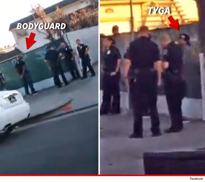 School Shooting Rap: Kylie Jenner's Rumoured Beau Tyga Gets Handcuffed By