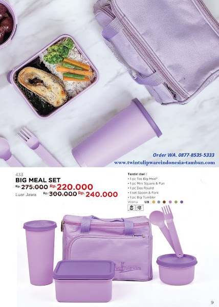 Promo Diskon April 2018, Big Meal Set