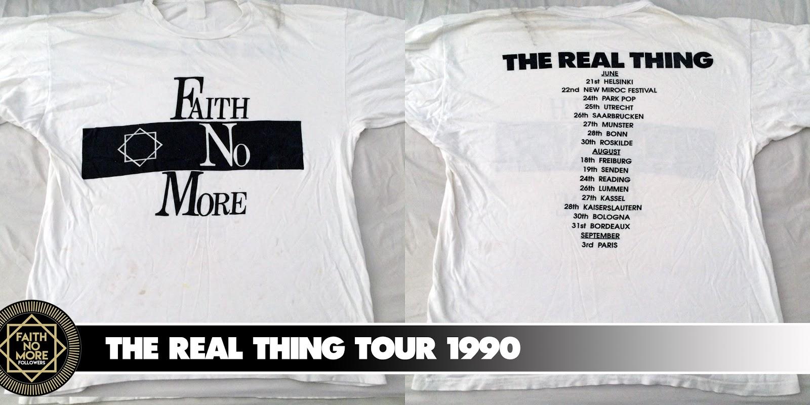 FAITH NO MORE T-Shirt Collection