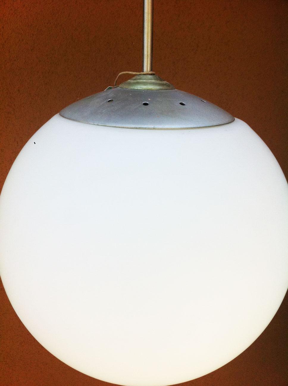 junk2funk: Mid-Century Modern Globe Pendant Light Fixture