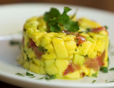 Tartar de Abacate (vegana)
