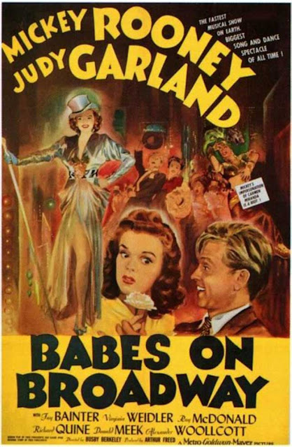 """Babes on Broadway"" tops the United States film box office on 7 January 1942 worldwartwo.filminspector.com"