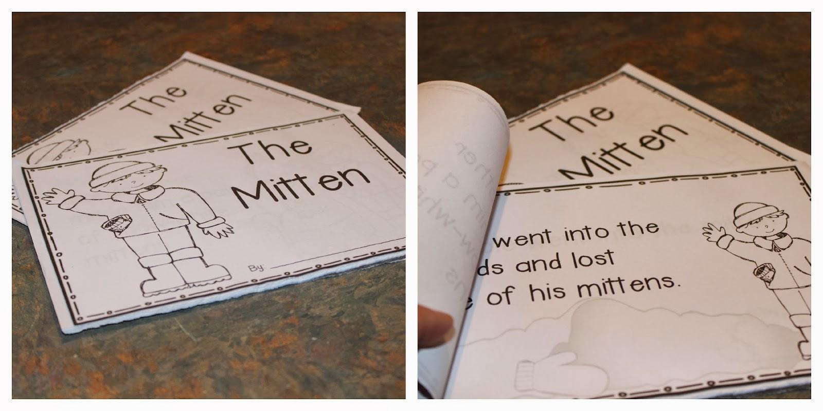 Kindergarten Lifestyle The Mitten Giveaway