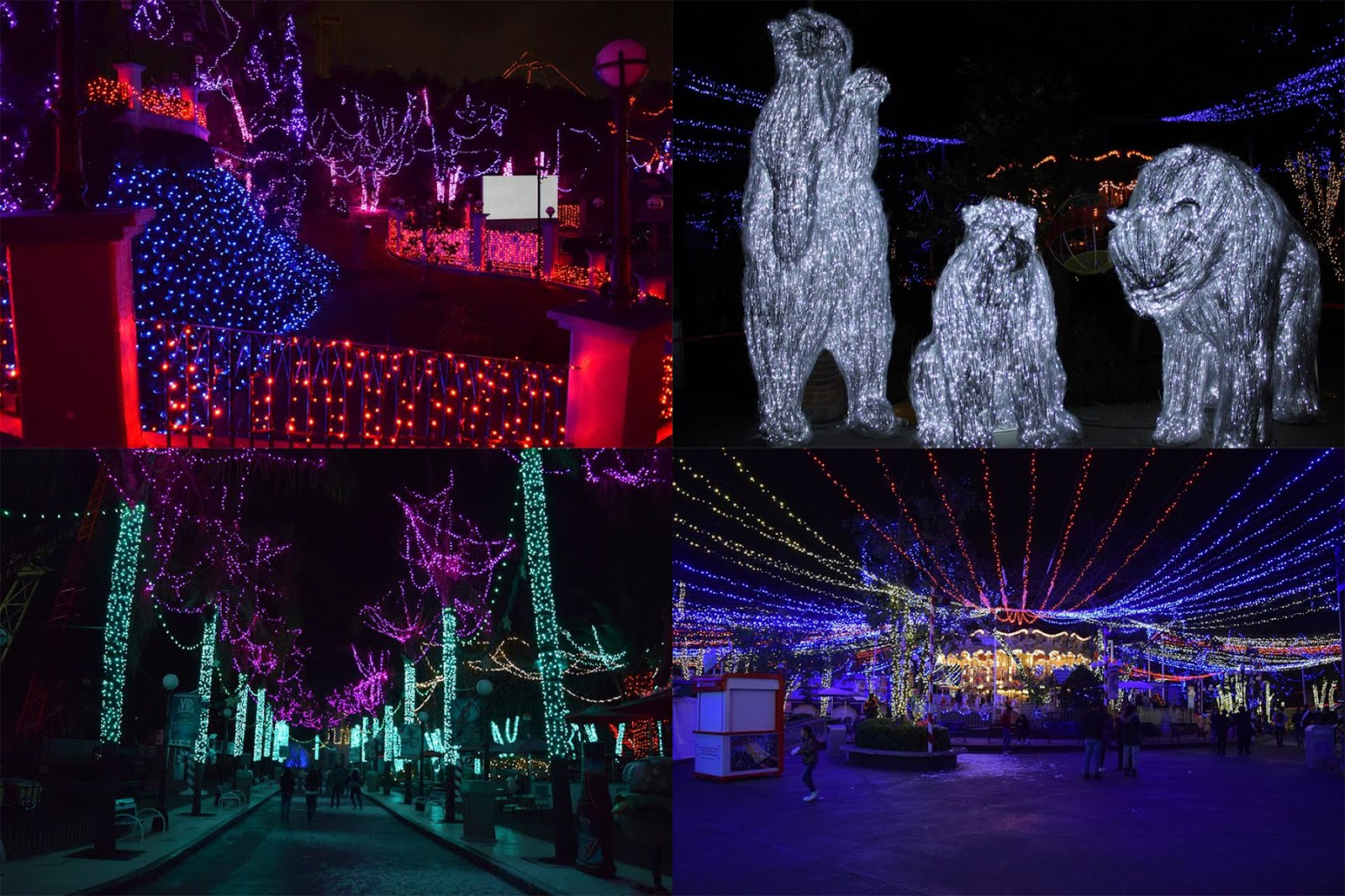 Open addiction six flags mexico christmas in the park for Villas navidenas liverpool