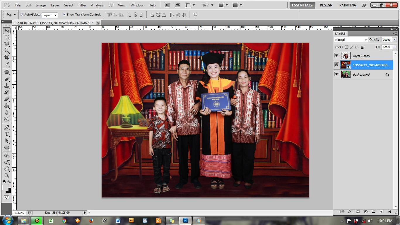Background Foto Wisuda Anak Tk Manasik Haji 25x3m Tutorial Cara Membuat Prialangka
