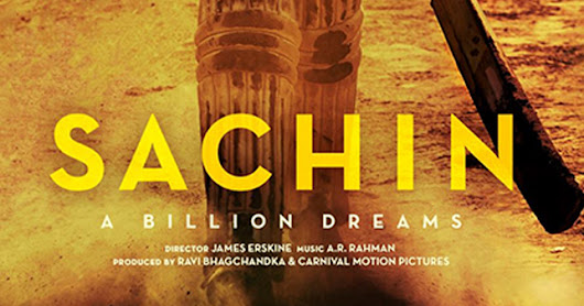 Sachin A Billion Dreams (2017 ) Full HD Movie Hindi PreDVDRip AAC 700MB MKV