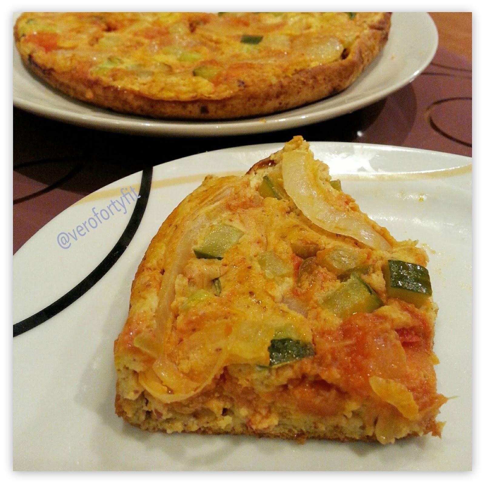 Recetas verofortyfit healthy and delicious food quiche con base quiche con base de calabaza en sartn con pisto forumfinder Images