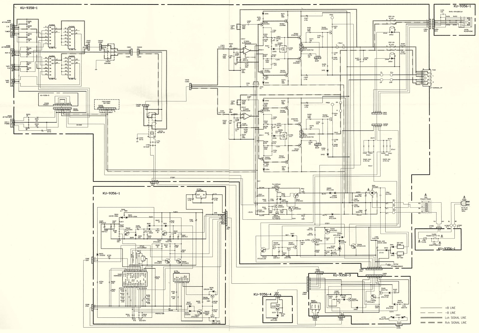 Circuit Diagram Of Hi Fi Amplifier 25w Hifi Audio With Mosfet Denon Pma 350se Integrated Stereo Schematic Idling