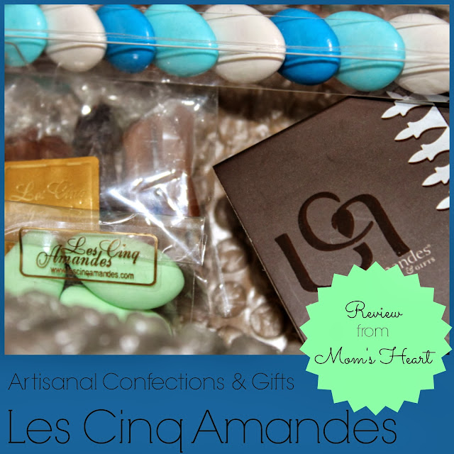 Les Cinq Amandes artisan candy review