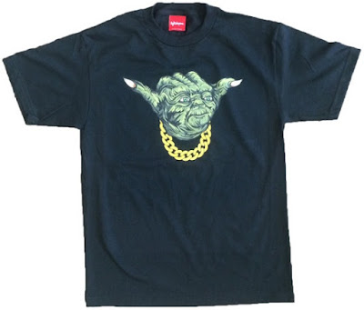 "Star Wars ""Yo! Shaka"" Yoda T-Shirt by Lightsleepers"