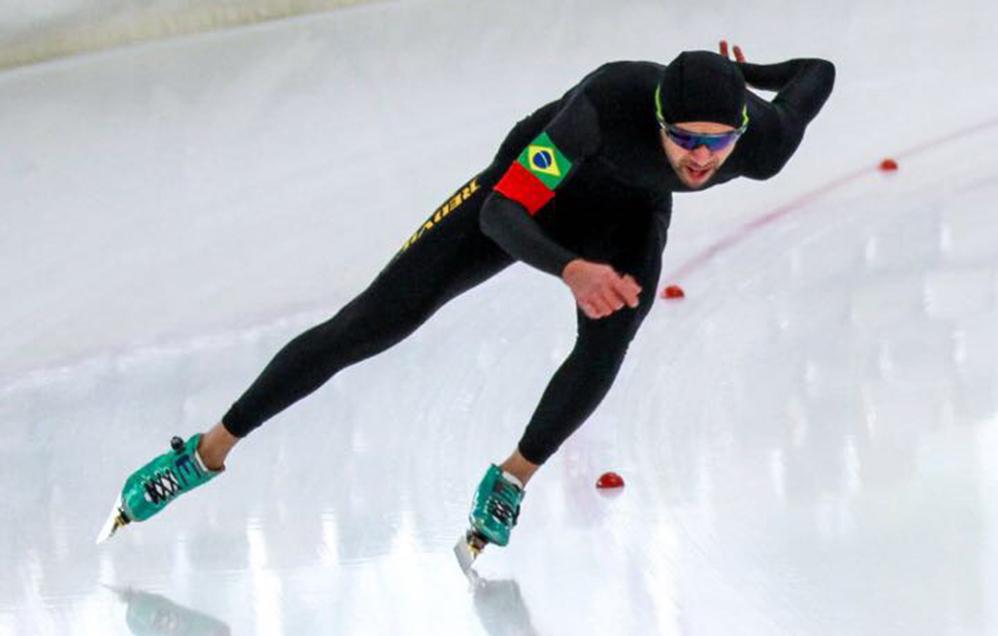 Brasil volta a ter registro da patinação de velocidade na ISU