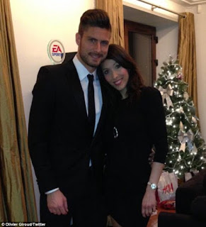 Giroud And Wife Jennifer