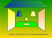 Finding the Area of a Trapezoid - Smart Boards Interactive Lesson