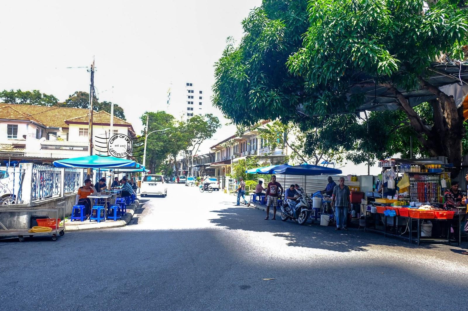 Mee Goreng behind Northam Hotel @ Jalan Servis, Georgetown, Penang