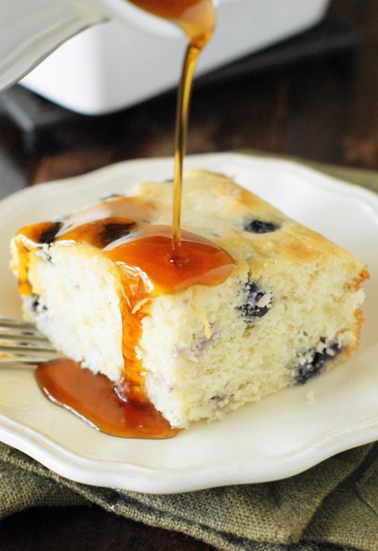 Fluffy Baked Blueberry Buttermilk Pancakes The Kitchen