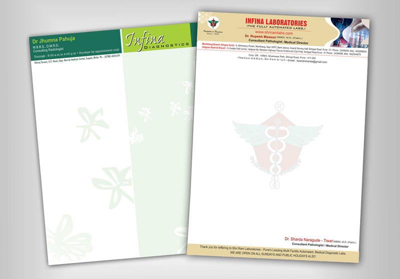 Thiết kế in ấn tiêu đề thư đẹp giá rẻ tại Hà Nội Infina