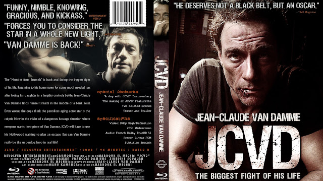 JCVD Bluray Cover