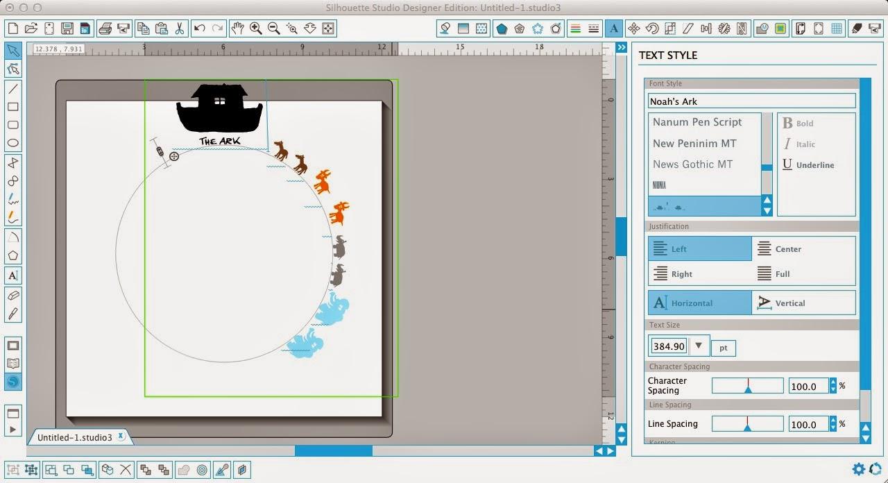 Silhouette Studio, shapes, path, Silhouette tutorial, dingbat font