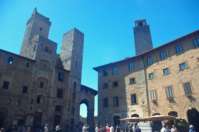 kamienne miasto San Gimignano