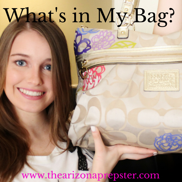 What's in My Bag + Big Announcement!