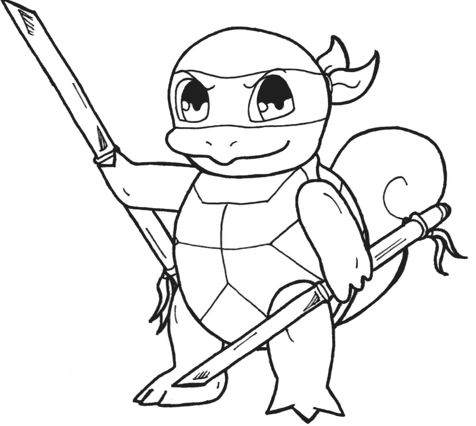 New Squirtle Coloring Pages Download