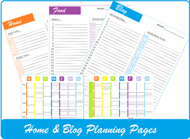 free printable home management