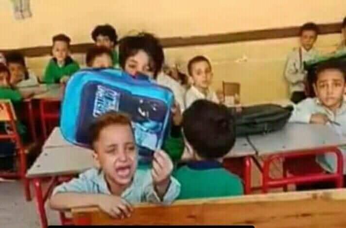 """التربية والتعليم تحقق بواقعة فيديو الطفل الباكى """"والنبي أنام ربع ساعة بس وأعمل اللي أنتوا عايزينه يا حاجة"""" والبحث جارى عن مصور الفيديو"""