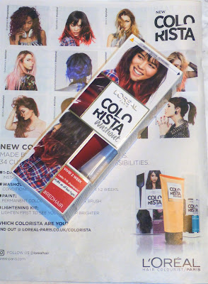 L'Oréal Colorista Washout Red Hair