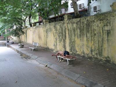 ベトナムのホームレス