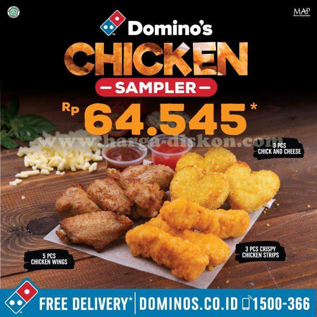 Dominos wings coupon