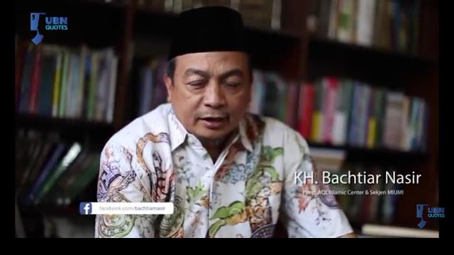 Ramai 'Serangan' kepada KH Ma'ruf Amin, Begini Nasihat Ustadz Bachtiar Nasir