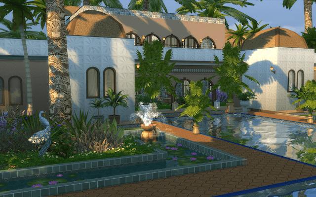 villa morocco sims 4