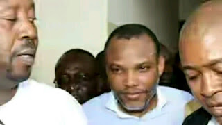Breaking news: DSS drops charges against Nnamdi Kanu in Magistrate Court
