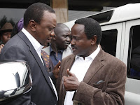KALONZO is a real watermelon! He has abandoned RAILA ODINGA and is running for President (EVIDENCE)