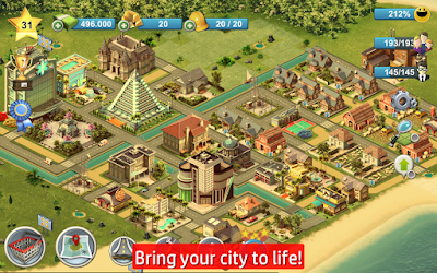 City Island 4 sim town Tycoon  (APK MOD MONEY)