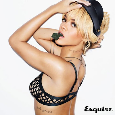 Rihanna-Heats-Up-British-Esquire-July-2012