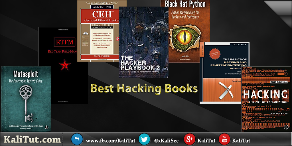 Top hacking books kalitut tutorial best hacking books fandeluxe Choice Image