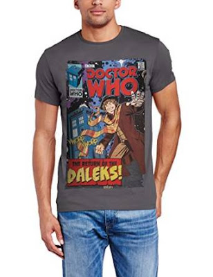 Doctor Who Tom Baker comic T-shirt