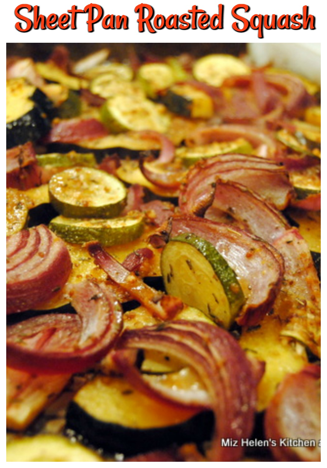 Sheet Pan Roasted Squash