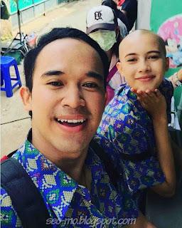Foto Anwar Sanjaya dan Annette Edoarda di Sinetron Kecil Kecil Mikir Jadi Manten