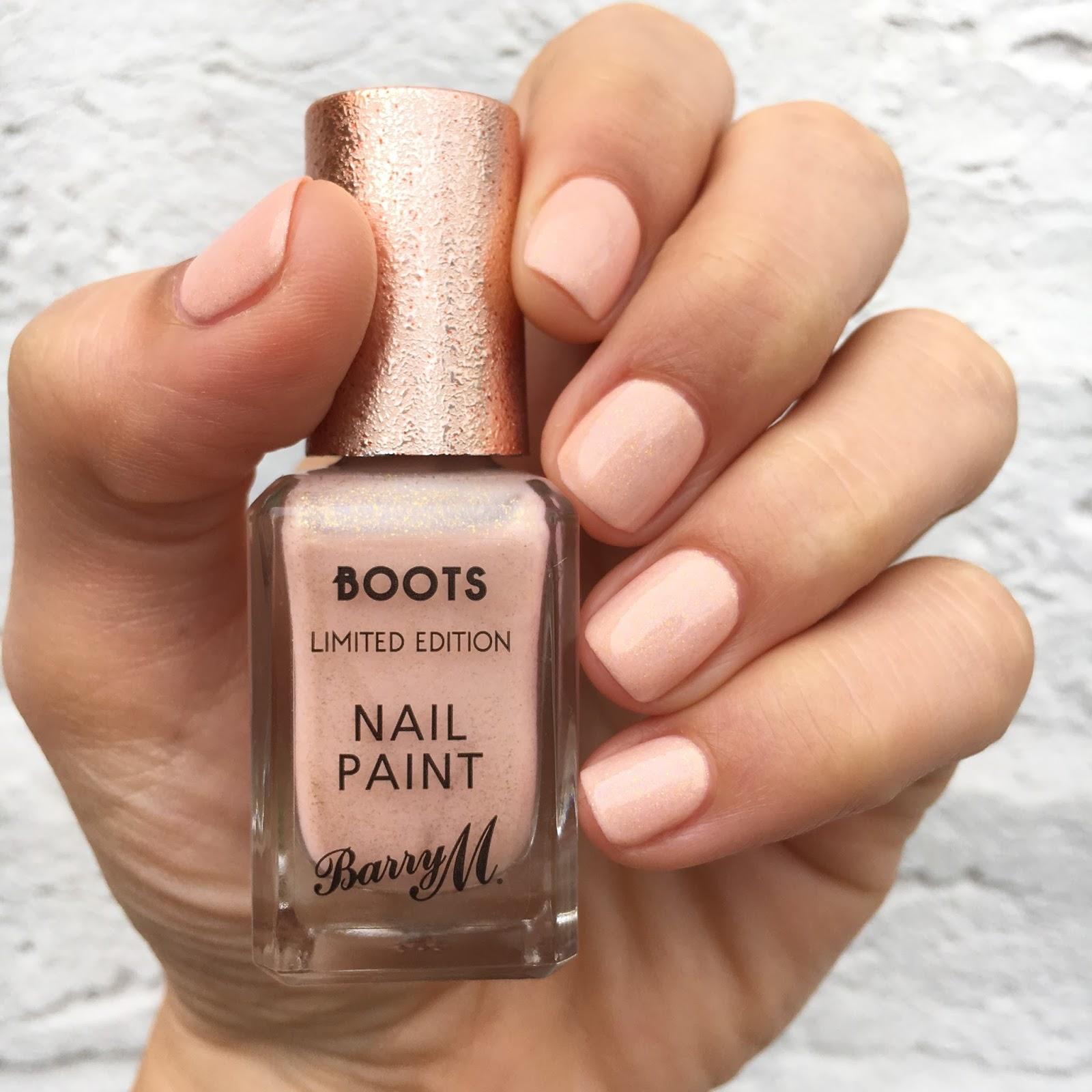 Dahlia Nails: Barry M and Boots Limited Edition Golden Sands